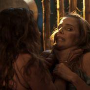 """Em """"Segundo Sol"""", Luzia tenta matar Karola depois de ser provocada"""