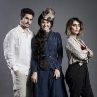 """Novela """"O Tempo Não Para"""": Betina ameaça colocar Marocas na cadeia depois de surra"""