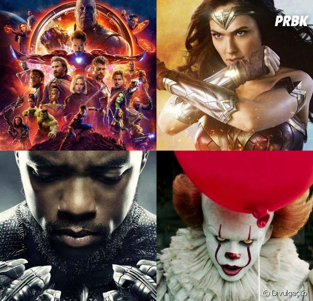 """""""Mulher-Maravilha"""", """"Pantera Negra"""", """"It - A Coisa"""", """"Vingadores"""" e mais filmes que poderiam ganhar a nova categoria do Oscar"""