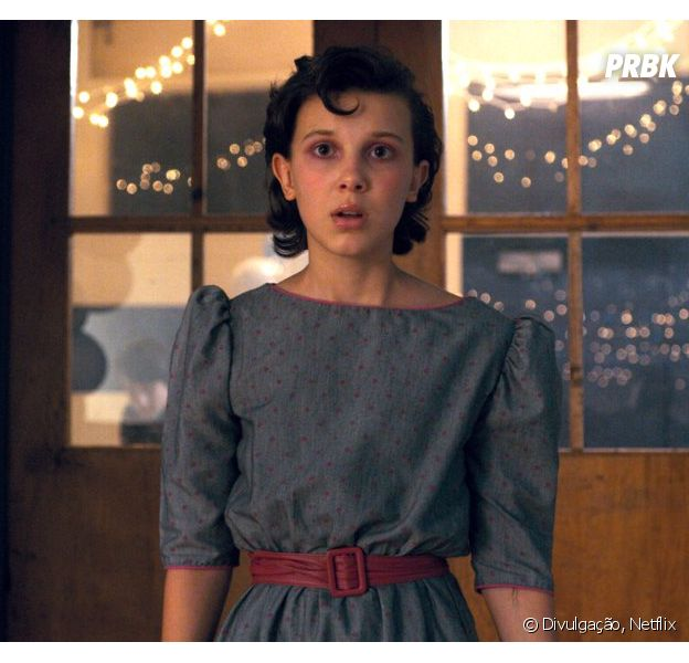"""Eleven sem poderes e mais feminina?Millie Bobby Brown, de """"Stranger Things"""", quer ver a sua personagem diferente!"""