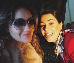"""Dulce Maria está a todo vapor na gravação do clipe de""""Lo Que Ves No Es Lo Que Soy"""""""