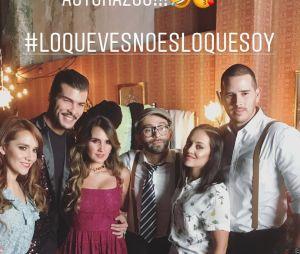 """Dulce Maria mostra atores que estarão no clipe de""""Lo Que Ves No Es Lo Que Soy"""""""