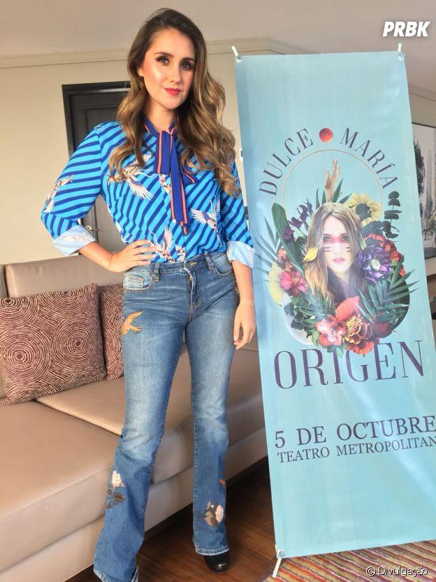 """Dulce Maria apresenta parte do """"Origen"""" no dia 5 de outubro"""