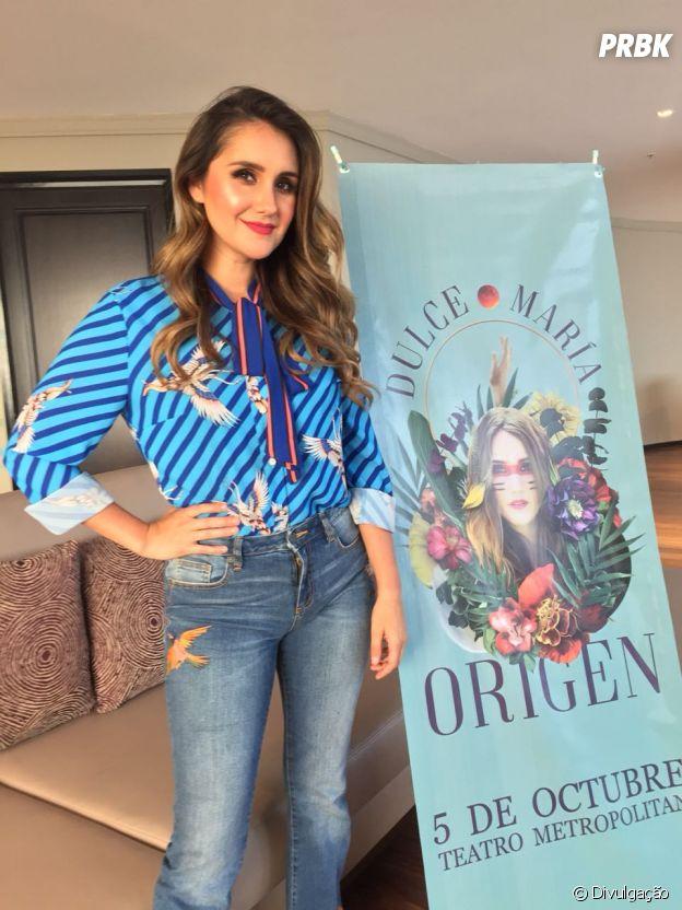 """Dulce Maria está animada para o projeto """"Origen"""""""