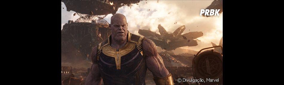 """De """"Vingadores 4"""": Thanos (Josh Brolin) pode ser derrotado pela Capitã Marvel (Brie Larson)"""