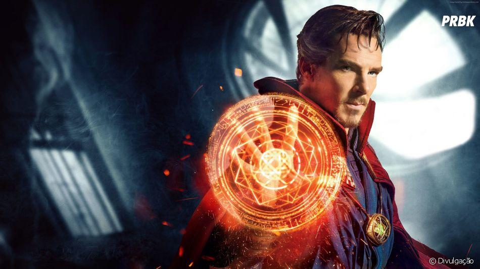 """Em """"Vingadores 4"""": Dr. Estranho (Benedict Cumberbatch) sabia o que estava fazendo quando deixou Thanos (Josh Brolin) prosseguir com seu plano"""
