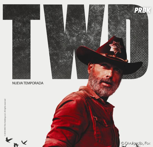 Fox divulga arte oficial e sinopse da nona temporada de ''The Walking Dead''
