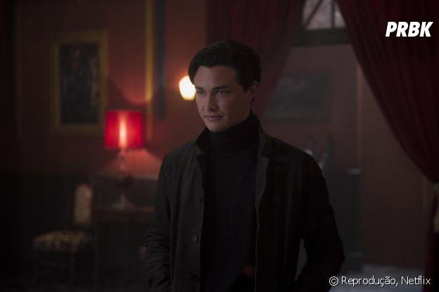 """Nicholas Scratch (Gavin Leatherwood) que mexerá com o coração de Sabrinaem """"O Mundo Sombrio de Sabrina"""""""