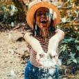 """Anitta explicou o sumiço das redes sociais: """"Tive uma semana de purificação"""""""