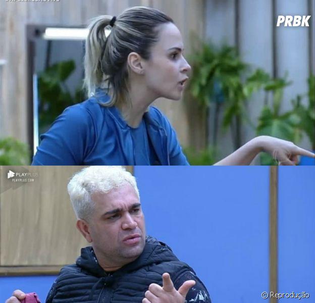 """""""A Fazenda 10"""": Ana Paula e Evandro discutem feio no reality show"""