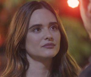 """Em """"O Tempo Não Para"""", Marocas (Juliana Paiva) já foi motivo de briga entre Samuca (Nicolas Prattes) e Bento (Bruno Montaleone)"""