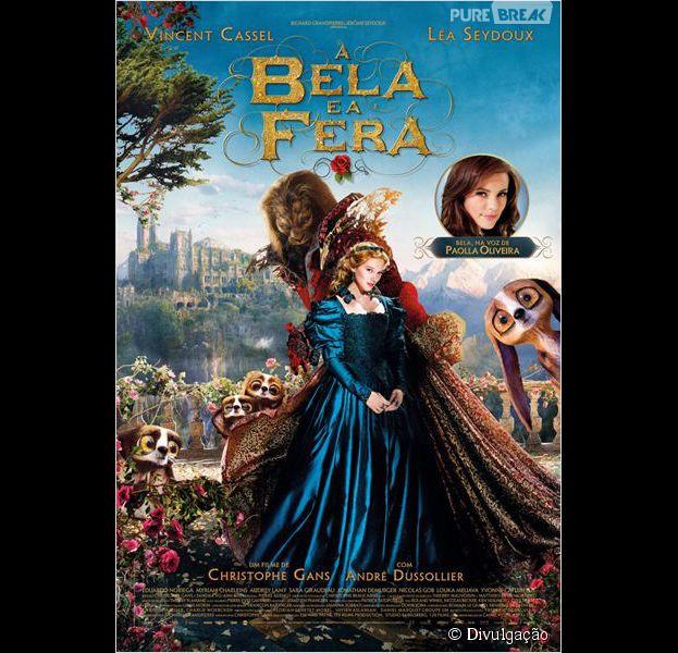"""O conto da """"A Bela e a Fera"""" ganha vida com atores reais"""