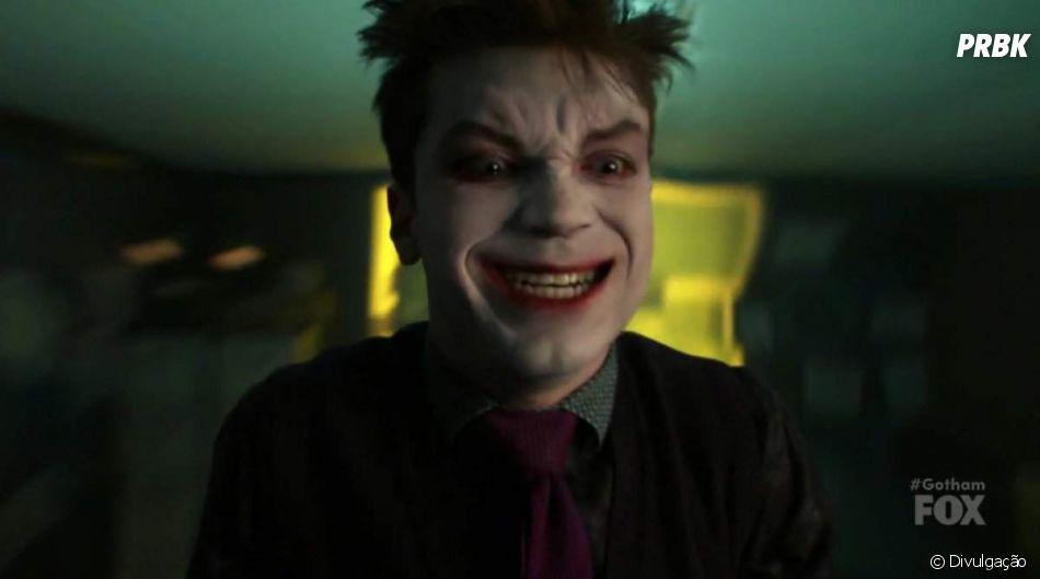 """Em """"Gotham"""", Coringa ( Cameron Monaghan) será foco de pelo menos um dos episódios da 5ª temporada"""