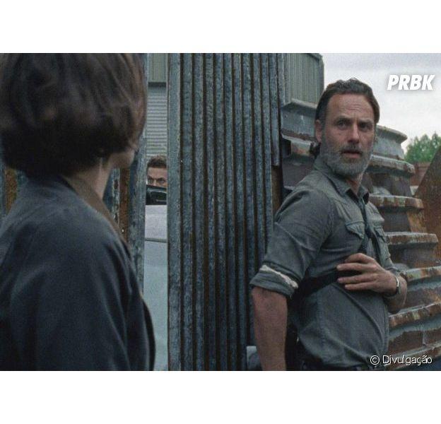 "Em ""The Walking Dead"", embate entre Rick (Andrew Lincoln) e Maggie (Lauren Cohan) será mostrado de forma diferente"
