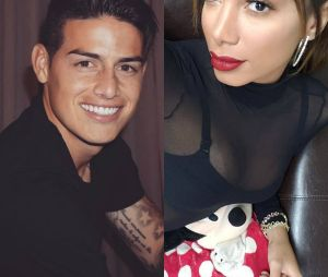 Os fãs de Anitta estão achando que cantora está tendo algo com James Rodríguez, um famoso jogador colombiano!