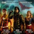 """Crossover entre """"Arrow"""", """"The Flash"""" e """"Supergirl"""" começa dia 9 de dezembro!"""