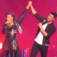 """Demi Lovato e Joe Jonas surpreendem os fãs com dueto de """"This is Me"""" ao vivo"""