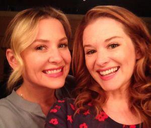 """Sarah Drew e Jessica Capshaw deixaram """"Grey's Anatomy"""" na 14ª temporada!"""
