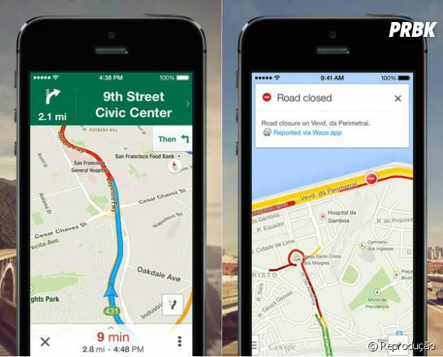 """Descubra onde está e para onde tem que ir com """"Google Maps"""""""