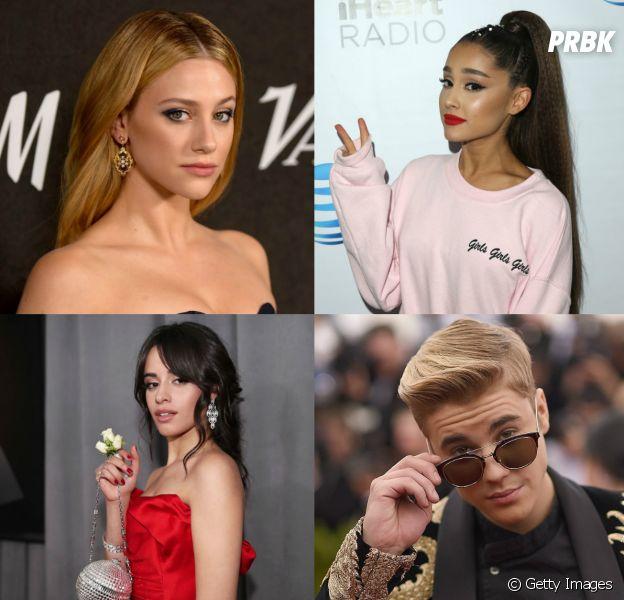 Lili Reinhart, Ariana Grande, Camila Cabello, Justin Bieber e mais artistas com talentos surpreendentes de bizarros!