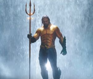 Aquaman ganhou seu tridente de ninguém menos que o Deus dos Mares, Poseidon