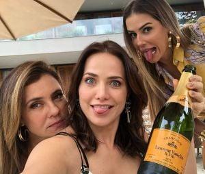 "Deborah Secco elogia Letícia Colin após o fim de ""Segundo Sol"""