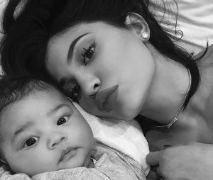 Stormi, filha de Kylie Jenner, nasceu no início do ano e tem apenas nove meses de idade