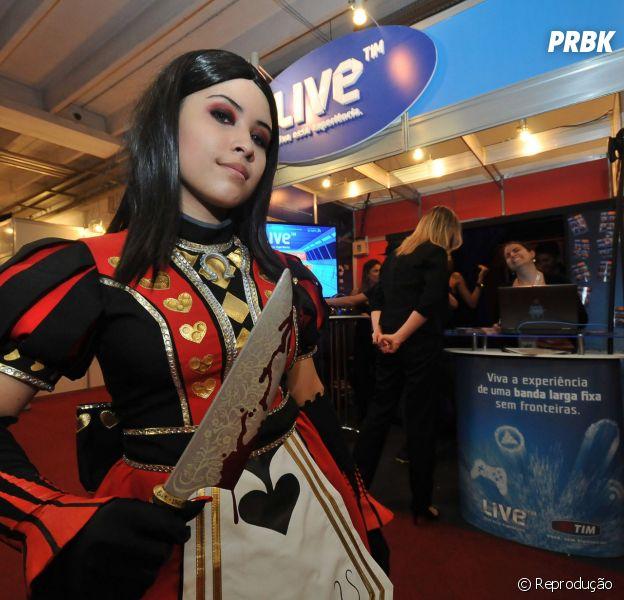 "Preparem seus cosplays para ""Brasil Game Show 2014"""