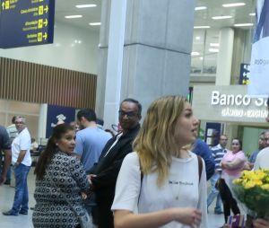 Bruno Montaleone faz uma surpresa mais que fofa para a chegada de Sasha Meneghel no Brasil