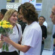 O Bruno Montaleone fez a maior surpresa pra Sasha quando ela chegou no Brasil e a gente tá shippando