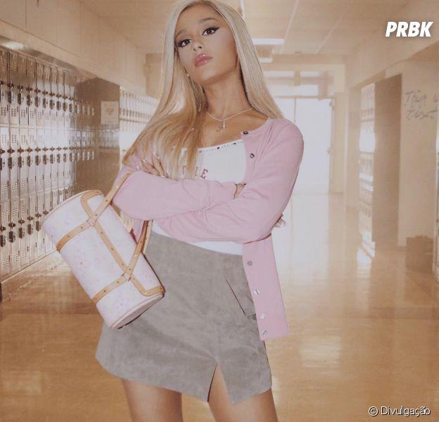 """Ariana Grande posta teaser incrível do clipe de """"thank u, next"""" baseado em """"Meninas Malvadas"""""""
