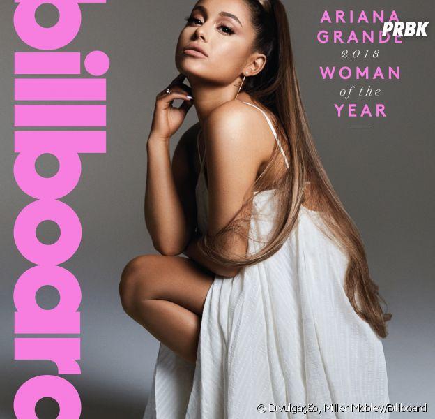 Ariana Grande é capa da revista Billboard! Cantora fala sobre machismo e novo álbum