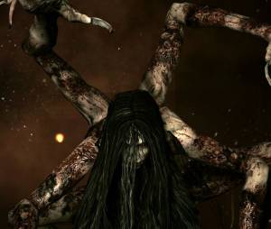"""Umas da chefes de """"The Evil Within"""" é Laura, a mulher que mais parece uma aranha"""
