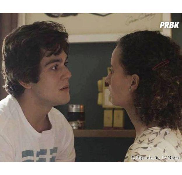"""Em """"Malhação"""", Maria Alice (Alice Milagres) decide terminar namoro com Alex (Daniel Rangel)"""