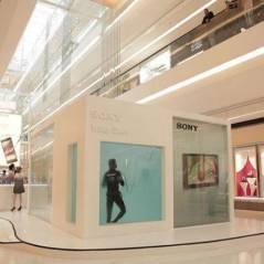 Afogando a concorrência! Sony tem loja aquática em São Paulo