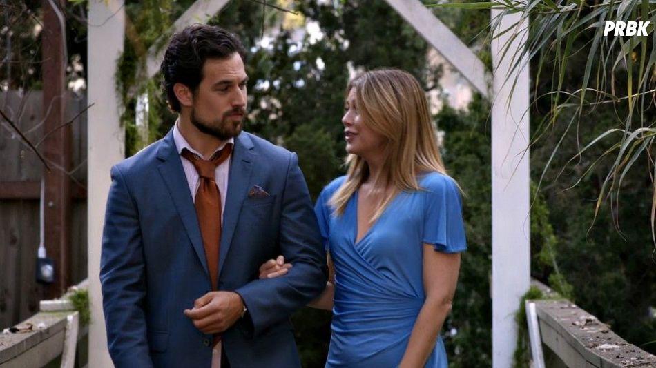 """Em """"Grey's Anatomy"""": Meredith (Ellen Pompeo) e DeLuca ( Giacomo Gianniotti) ficam presos em elevador"""