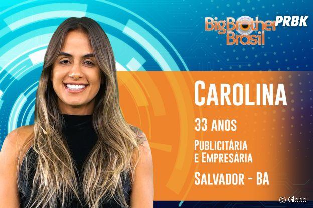 """Do """"BBB19"""": conheça Carolina, de 33 anos"""