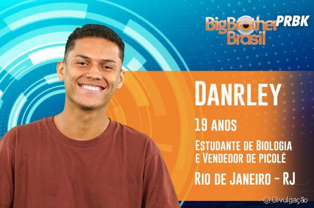 """Do """"BBB19"""", conheça Danrley, o carioca de 19 anos"""