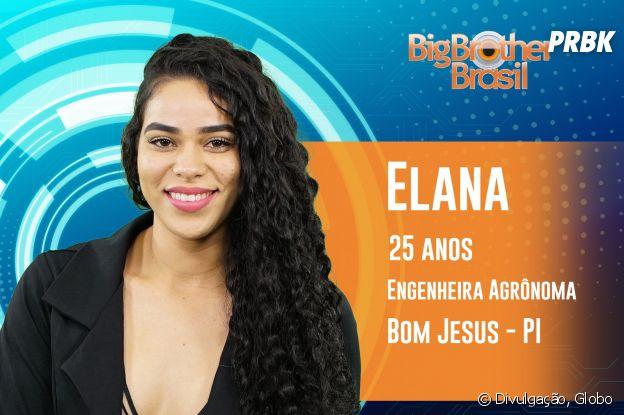 """Do """"BBB19"""": conheça Elana, de 25 anos"""