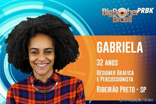 """Do """"BBB19"""": conheça Gabriela, de 32 anos"""