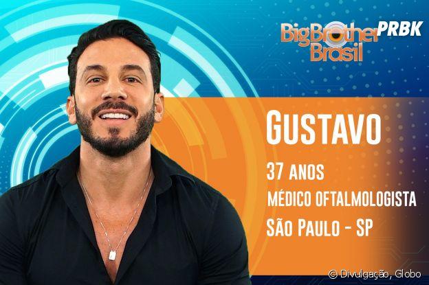 """Do """"BBB19"""": conheça Gustavo, oftalmologista de São Paulo"""