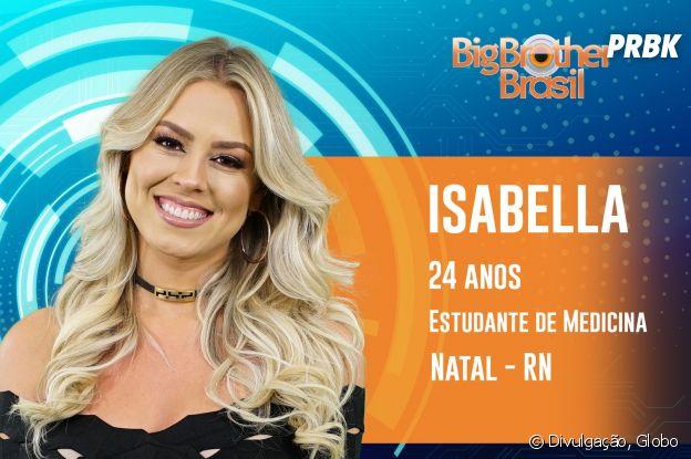 """Do """"BBB19"""", conheça Isabella, de 24 anos"""
