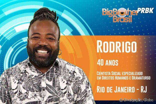 """Do """"BBB19"""", conheça Rodrigo, o carioca de 40 anos"""