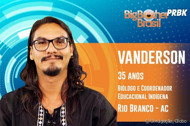 """Do """"BBB19"""", conheça Vanderson, biológo de 35 anos"""