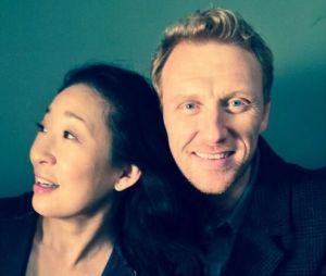 """De """"Grey's Anatomy"""": Sandra Oh e Kevin McKidd são muito amigos"""