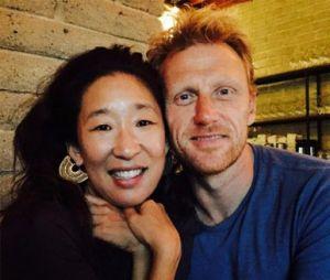 """De """"Grey's Anatomy"""":Sandra Oh e Kevin McKidd são amigos até hoje"""