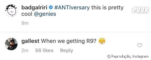 Irmão da Rihanna cobra novo álbum da irmã