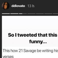 Demi Lovato zoa rapper, sofre ataque de comentários ofensivos e desativa Twitter