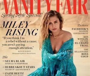 Miley Cyrus na Vanity Fair: cantora fala sobre casamento com Liam Hemsworth