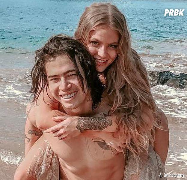 Whindersson Nunes e Luísa Sonza trocam declarações pelo primeiro ano de casados